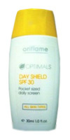 Dieninis kreminis skystis Optimals, SPF 30